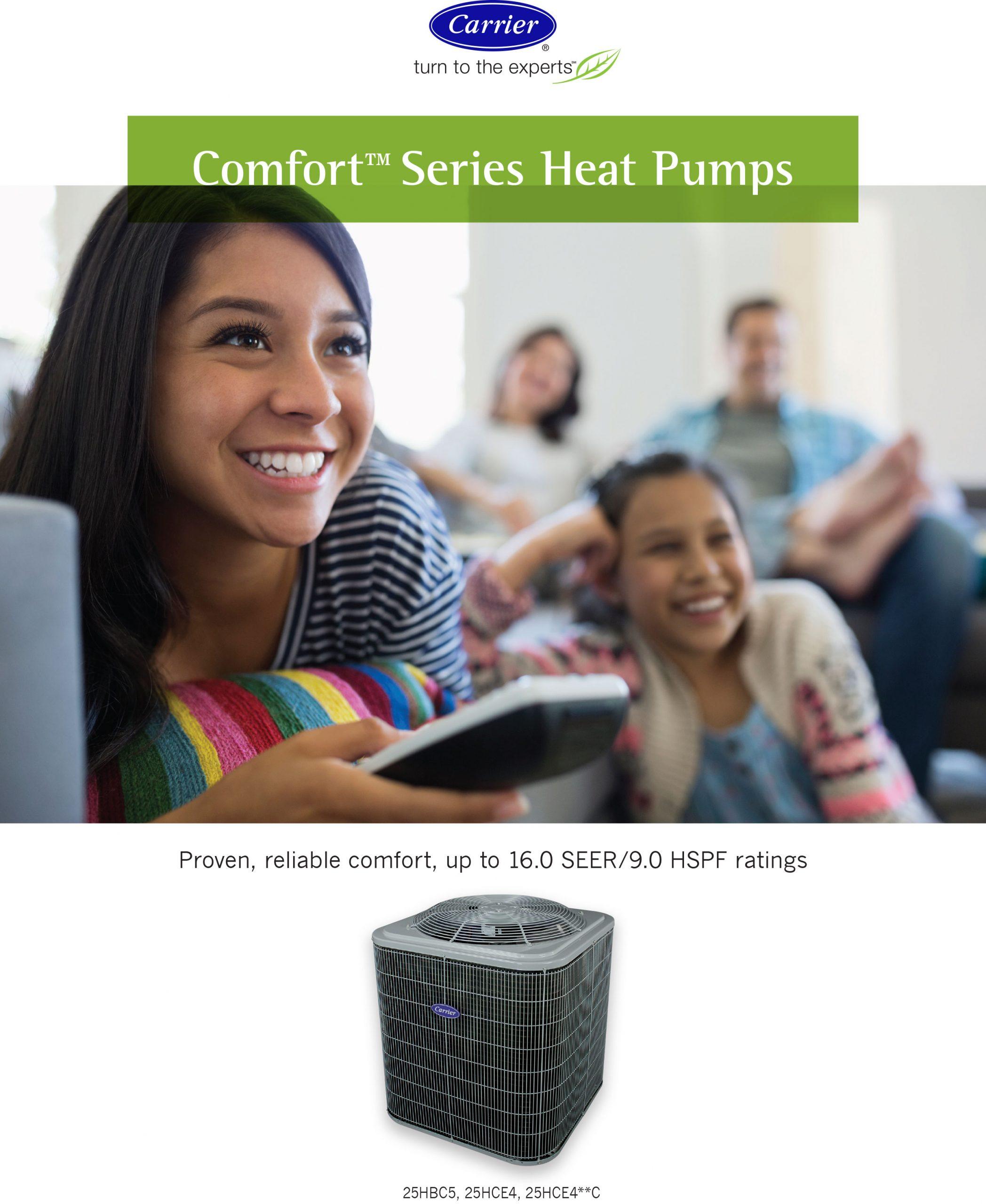 Comfort Series Heat Pumps