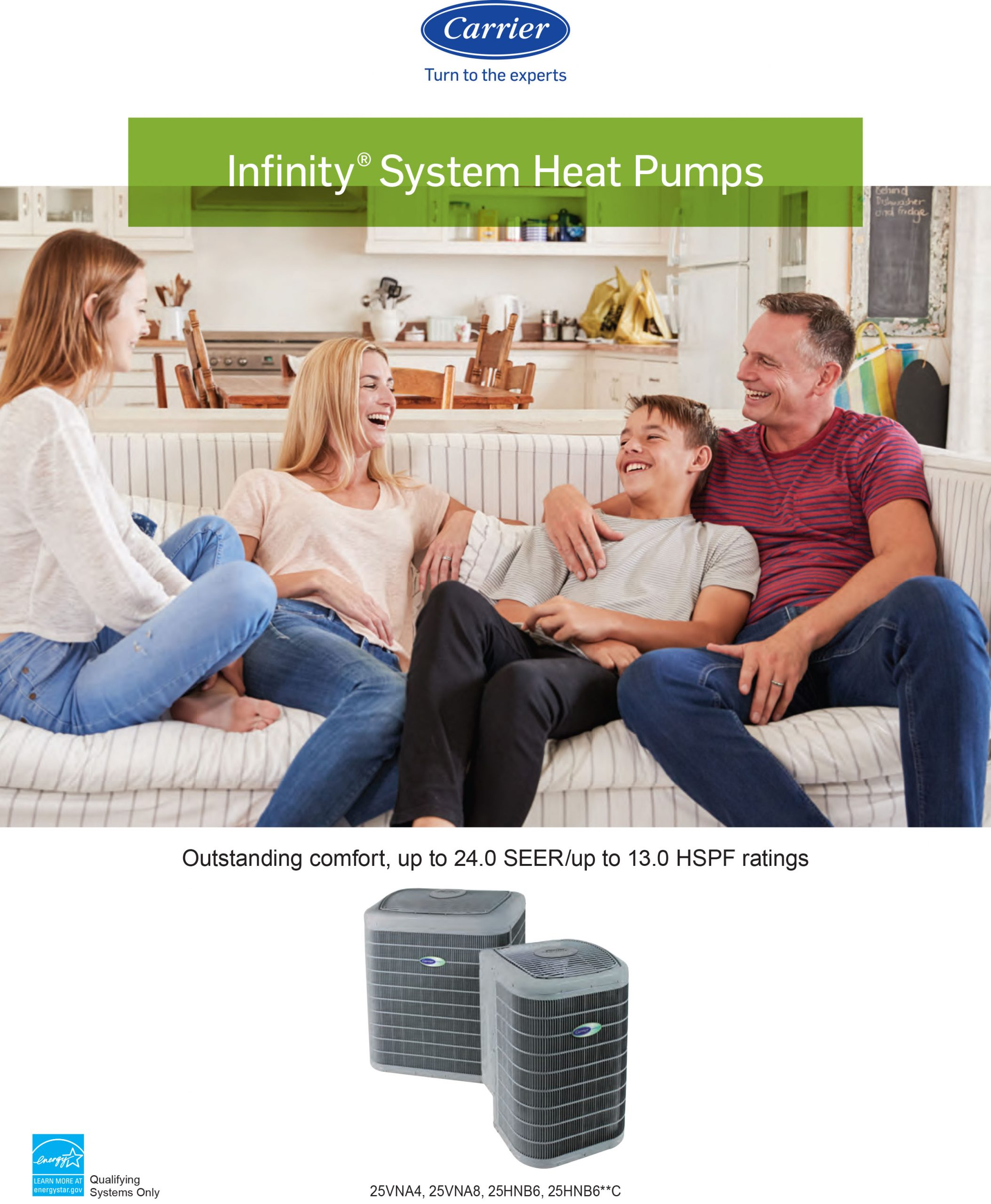 Carrier Infinity Heat Pumps