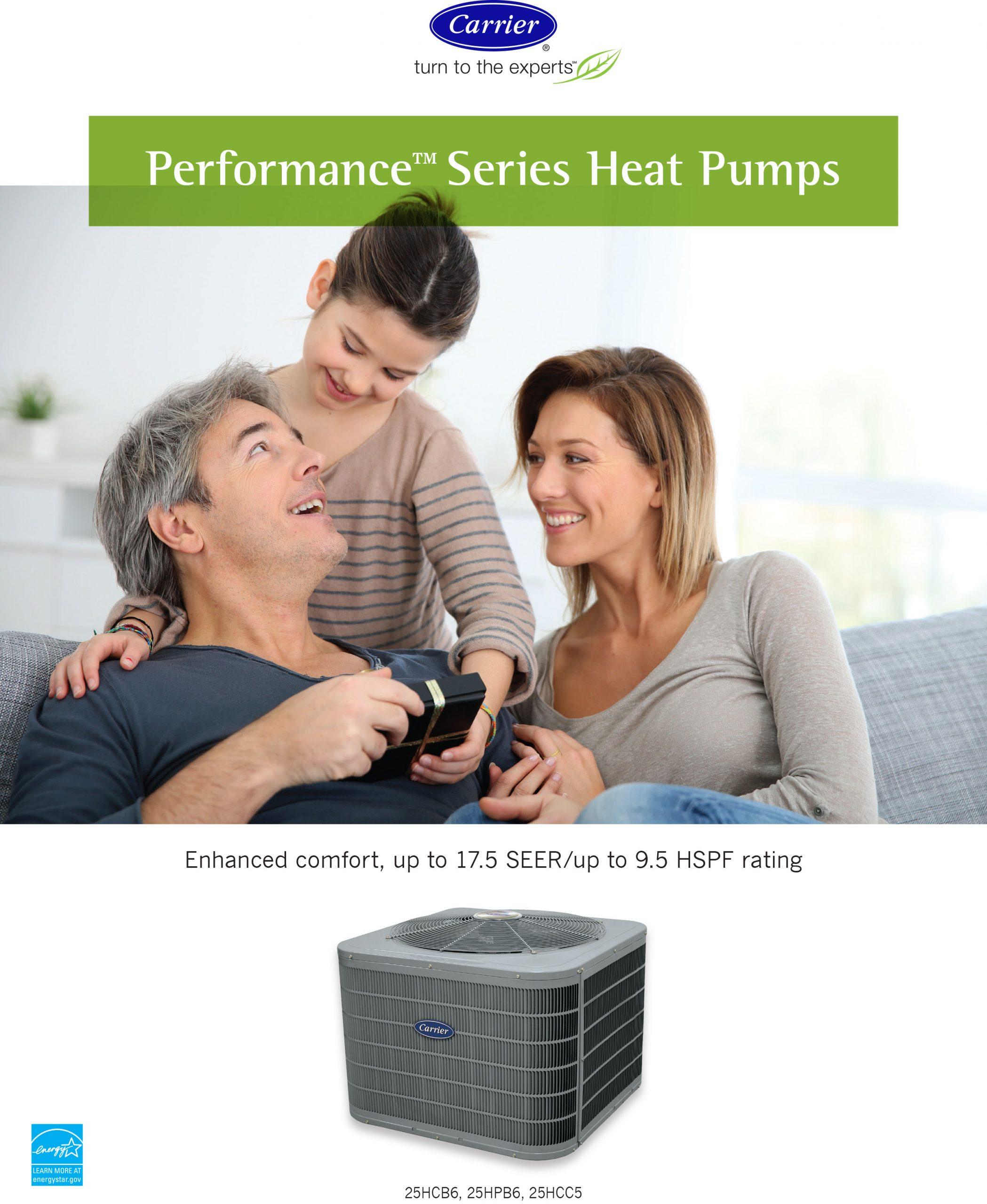 Performance Series Heat Pumps
