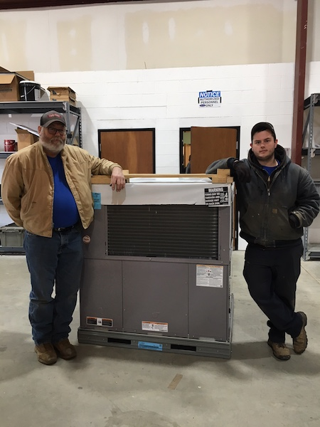 Commercial Heating and Cooling Technicians