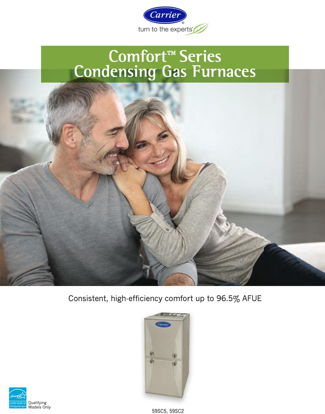 Carrier Comfort Series Gas Furnace
